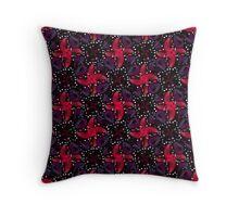 Dark Refined Luxury Pattern Throw Pillow
