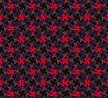 Dark Refined Luxury Pattern by DFLC Prints