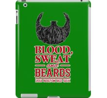 Blood, Sweat and Beards iPad Case/Skin