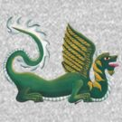 Green Flying Dragon by Kayleigh Walmsley