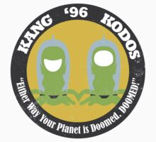 Vote Kang - Kodos '96 — Sticker by fohkat