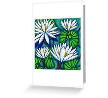 Pond Jewels Greeting Card