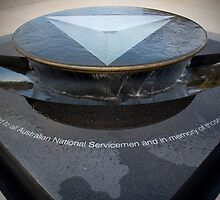 The National Service Memorial by Paul Dean