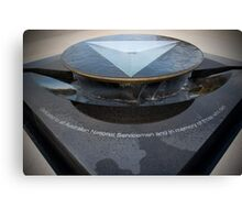 The National Service Memorial Canvas Print