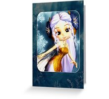 Cute Little Fairy Any Ocassion Card Greeting Card