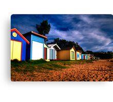 beachfront,Mt Martha,Melbourne,Australia Canvas Print