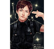BANGTAN BOYS OFFICER JUNGKOOK Photographic Print