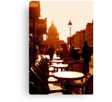 Pantheon à Paris Canvas Print