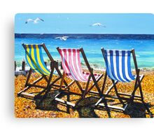 High tide and Heatwave Canvas Print