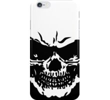 Bad To The Bone Skull T Shirt iPhone Case/Skin