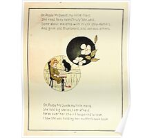 The Glad Year Round for Boys and Girls by Almira George Plympton and Kate Greenaway 1882 0063 Poppy McQuade Poster