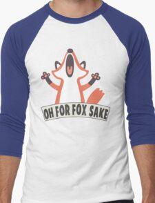 Oh For Fox Sake T Shirt Men's Baseball ¾ T-Shirt