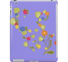 Floral watercolor pattern iPad Case/Skin