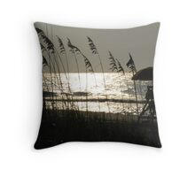 Oceanview at Myrtle Beach, SC Throw Pillow