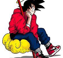 Goku's Day Off by bradjordan412