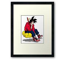 Goku's Day Off Framed Print
