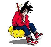 Goku's Day Off Photographic Print