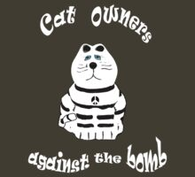 Cat Owners against the Bomb T Shirt by simpsonvisuals