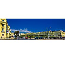 One of Brighton's Regency Styled Seafront Squares Photographic Print