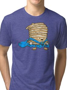 Captain Pancake Tri-blend T-Shirt