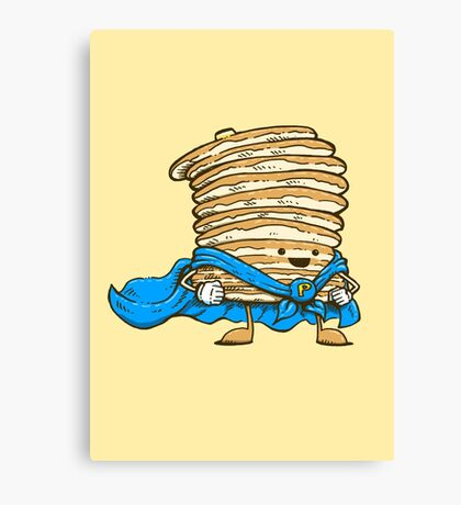 Captain Pancake Canvas Print