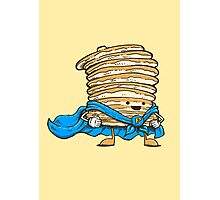 Captain Pancake Photographic Print