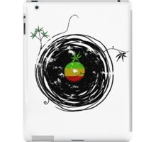 Reggae Music Peace - Vinyl Records Weed Pot - Cool Retro Music DJ iPad Case/Skin