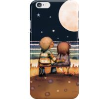 the stars, the moon and the tide iPhone Case/Skin