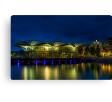 Geelong at night Canvas Print