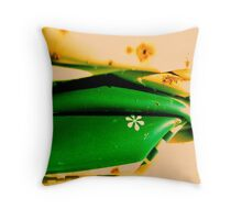 Green is good Throw Pillow