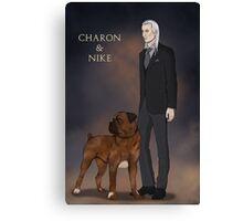 Charon & Nike Canvas Print