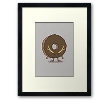 The Donutalope Framed Print