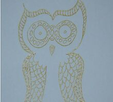Gold Owl by KazM