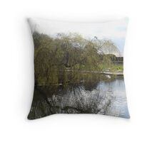 Reflections of A Weeping Willow Throw Pillow