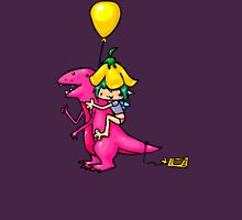 Poop on Stesaur Womens Fitted T-Shirt