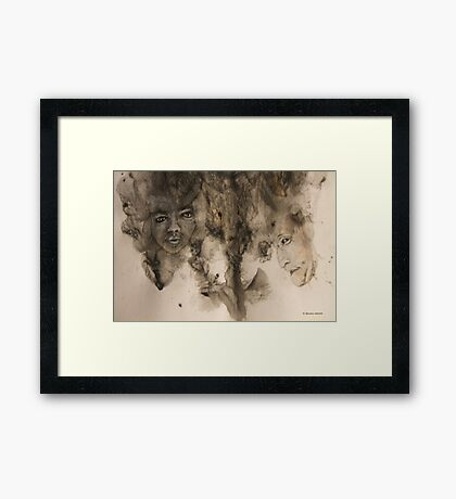 Hunters Framed Print