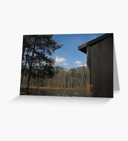 Location, Location, Location Greeting Card
