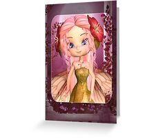 Cute Littel Fairy Greeting Card Greeting Card
