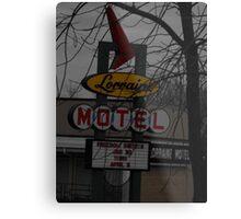 Lorriane Motel  Metal Print