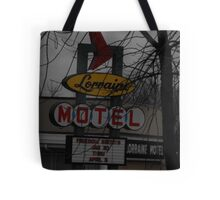 Lorriane Motel  Tote Bag