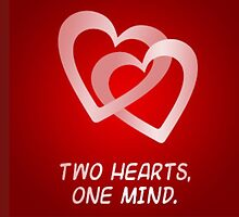 two hearts one mind by loveofpillows