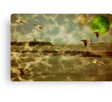 The Arrival Of Cebelis Canvas Print