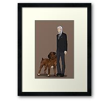 Charon & Nike Version 2 Framed Print