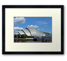 "Clyde Auditorium Glasgow ""The Armadillo"" 2 Framed Print"