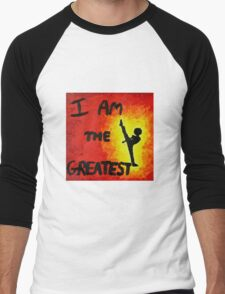 I Am the Greatest Men's Baseball ¾ T-Shirt