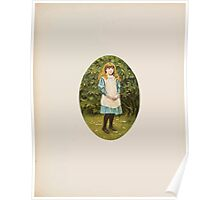 Rhymes for the Young Folk William and Hellen Allingham art Kate Greenaway 0027 Amy Margaret Poster