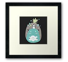 Japanese Fairy Tale \\ Piece 3 Framed Print