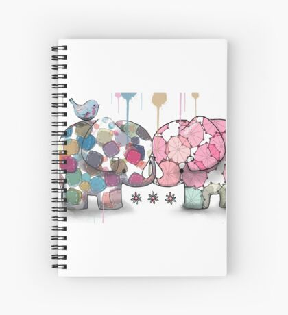 elephant confection Spiral Notebook