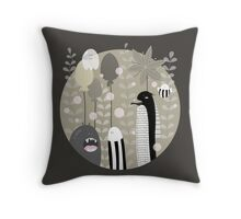 Japanese Fairy Tale / Piece 1 Throw Pillow