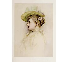 Kate Greenaway Collection 1905 0361 Portrait of a Lady Photographic Print